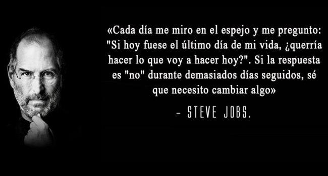 Reflexiones para la vida de Steve Jobs