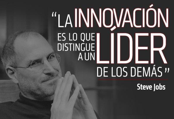 imagenes con frases de liderazgo de Steve Jobs