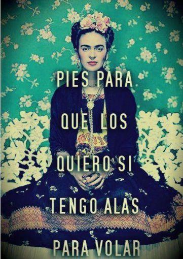 Frases De Frida Kahlo en imagenes para el celular