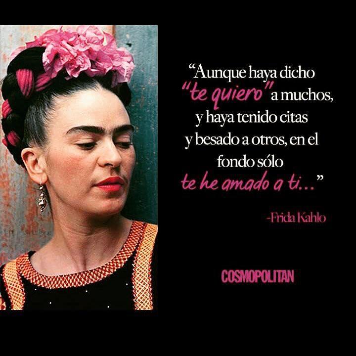 Frases de Frida Kahlo para whatsapp