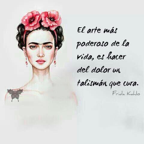 Imagenes con frases de Frida Kahlo para compartir