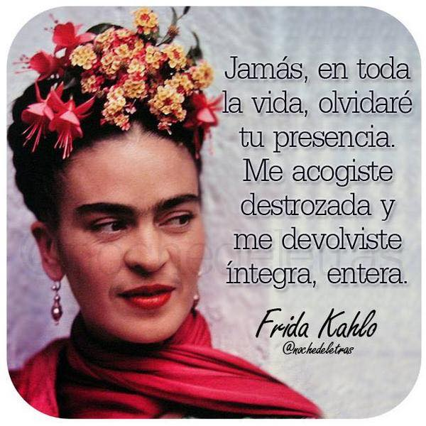 Imagenes de Frida Kahlo con frases para el celular