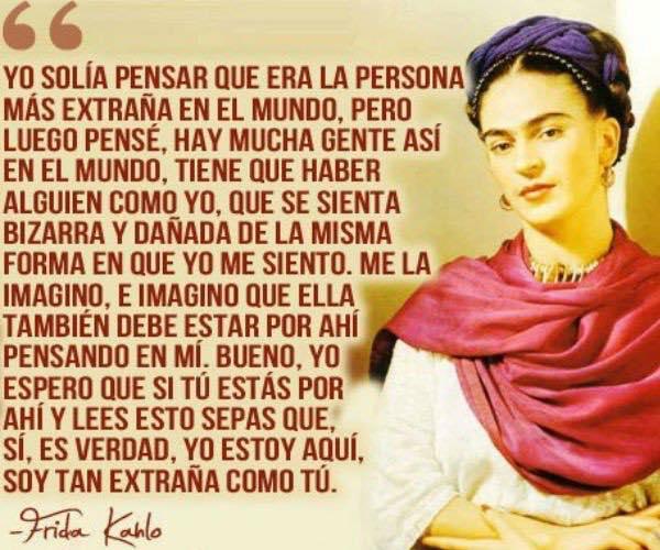 Imagenes de Frida Kahlo con frases para facebook