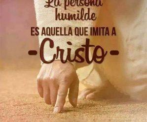 Imagenes Con Reflexiones Cristianas Sobre La Humildad