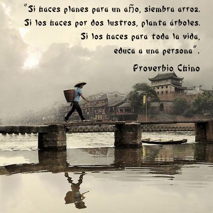 Reflexiones de proverbios chinos