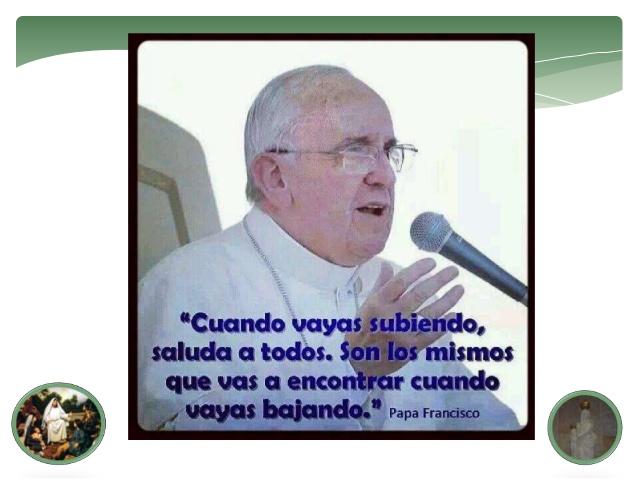 Imagenes con frases del Papa Francisco sobre la humildad