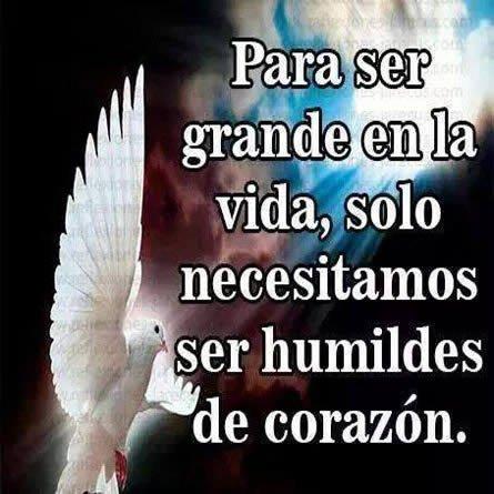 Mensajes de humildad Para facebook