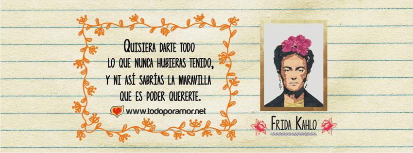 Portadas para facebook de Frida Kahlo