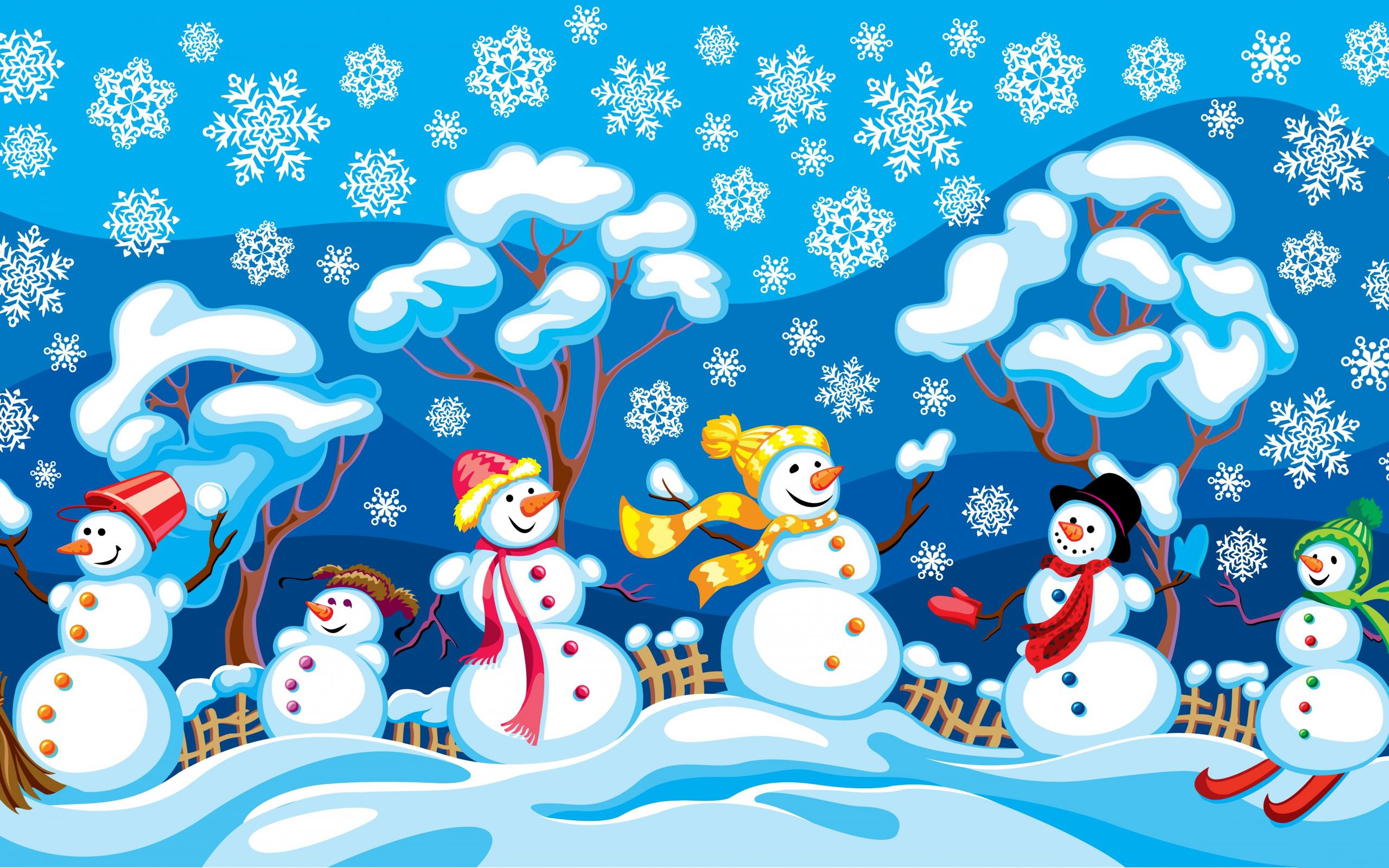 fondos-de-pantalla-de-munecos-de-nieve