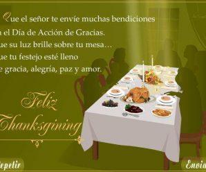 Frases Del Día De Acción De Gracias Para Enviar Por Celular