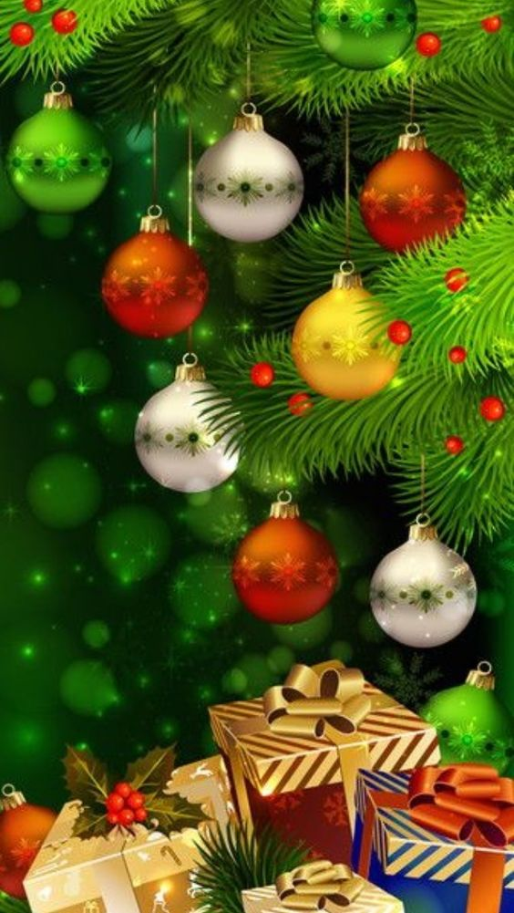 Imagenes Con Luces y Decoraciones De Navidad Para Celular