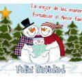 Imagenes Con Frases De Navidad Con Muñecos De Nieve