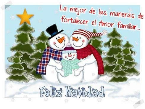 imagenes-con-frases-de-navidad-para-enviar-con-munecos-de-nieve