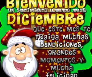 Imagenes Con Frases Para Dar La Bienvenida a Diciembre