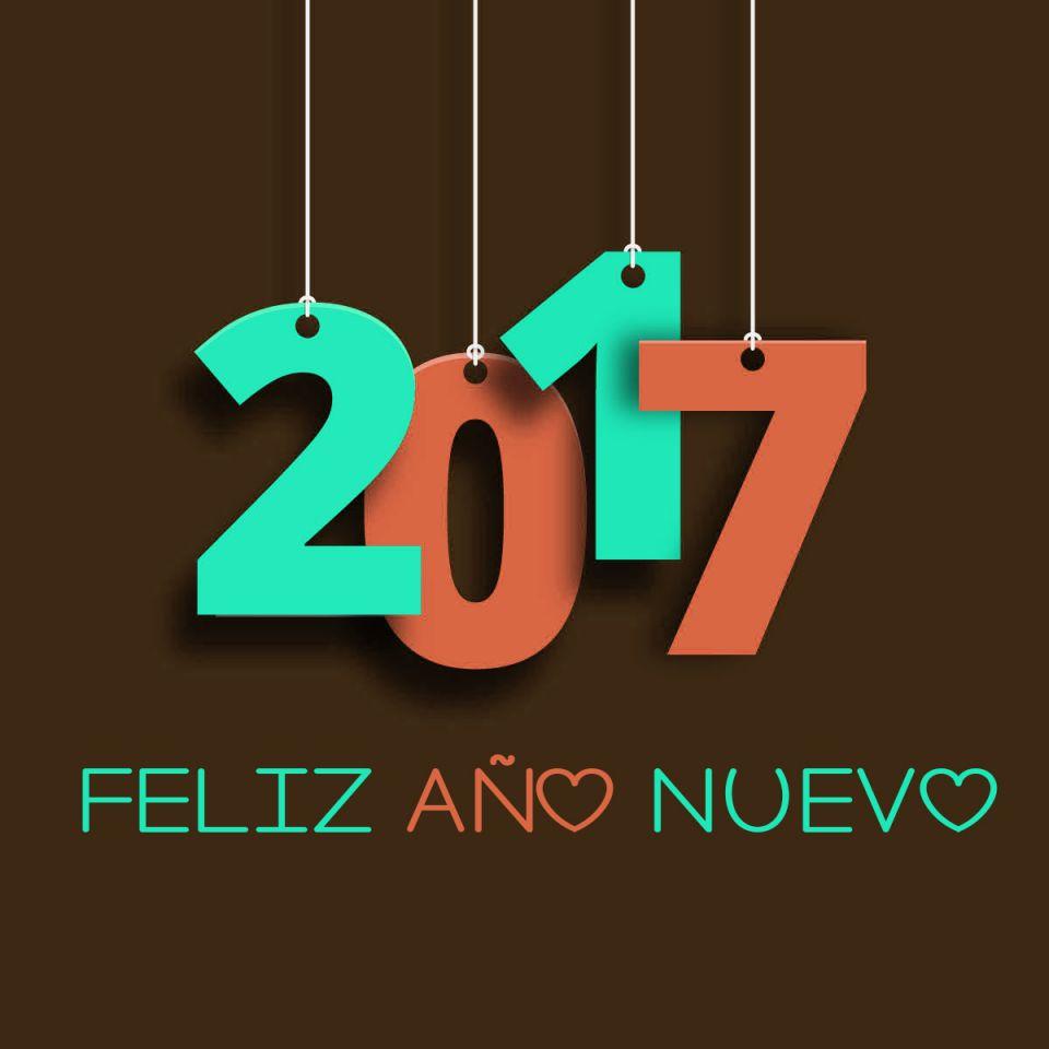 Bonitas imagenes 2017 Feliz año nuevo para descargar