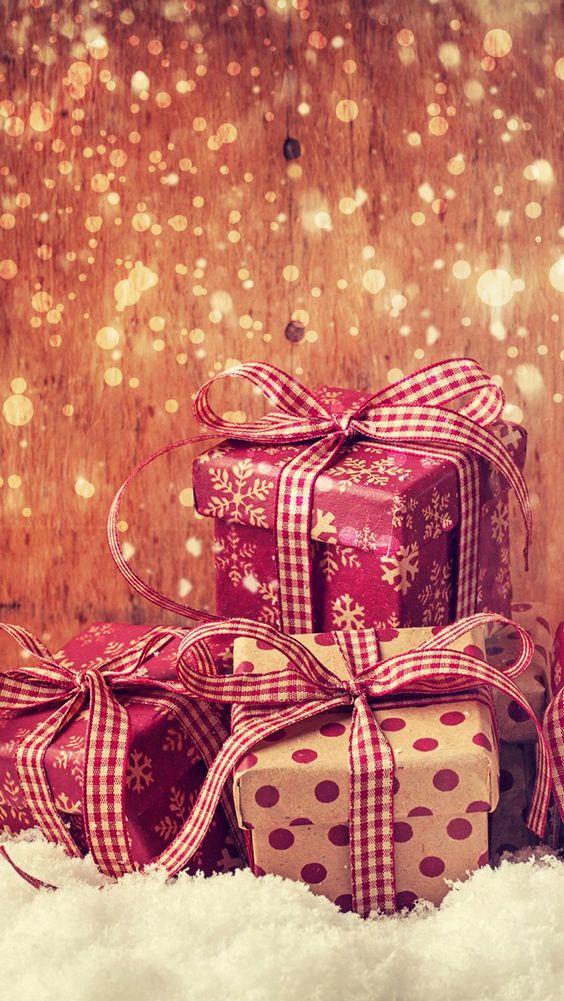 Imagen navideña para fondo de Android y iphone