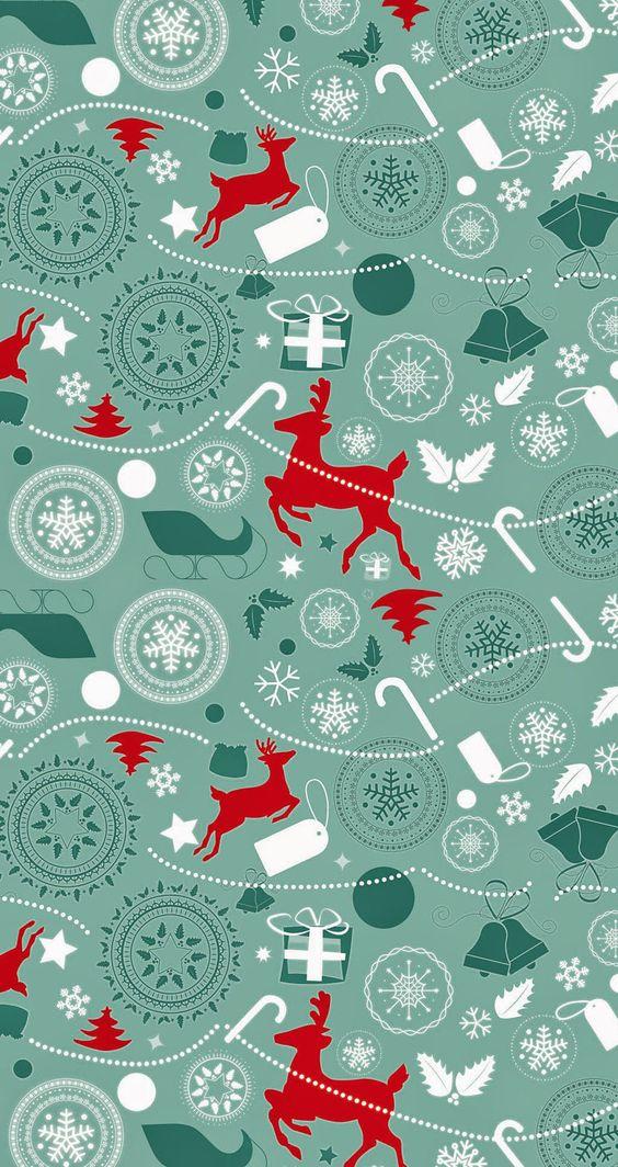 Imagen para fondo de iOs y Android con motivo de navidad