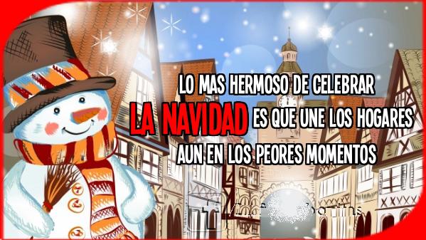 Imagenes con mensajes de navidad para enviar a mi familia