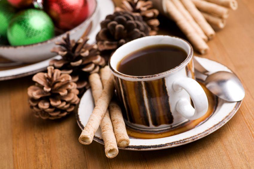 Imagenes navideñas de tazas de café