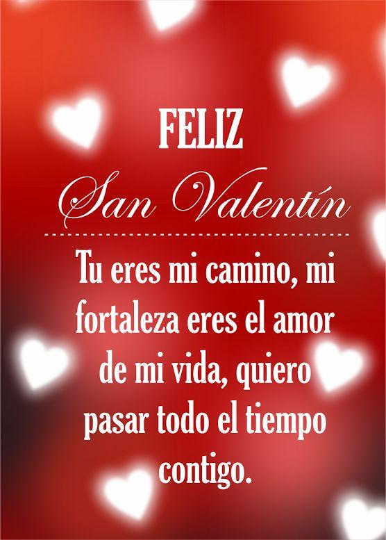 Imagenes con corazones y mensajes para el día de San Valentín