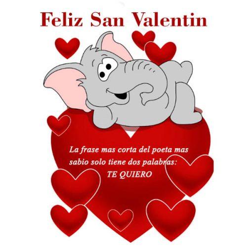 Imagenes de Corazones Con mensajes para dar un feliz San Valentín