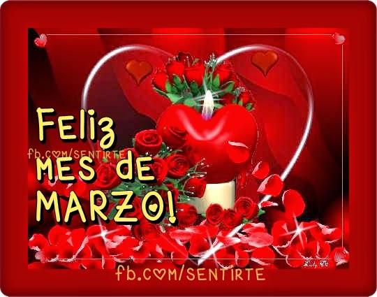 Imagenes de rosas para desear un feliz mes de marzo