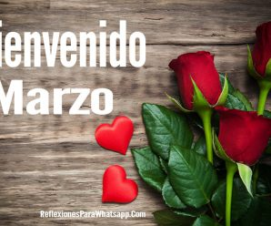 Imagenes de Rosas Bienvenido Marzo Para Compartir