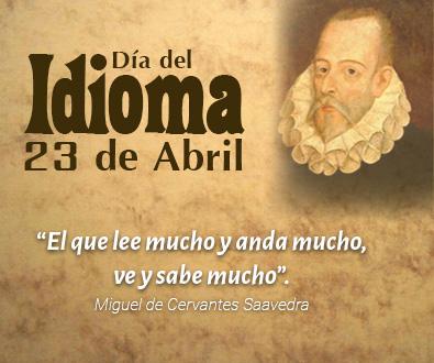 Día del idioma español 23 de abril