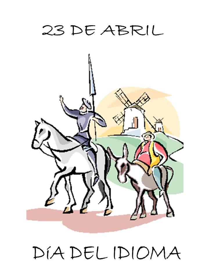 Descargar imagen del día del idioma el 23 de abril