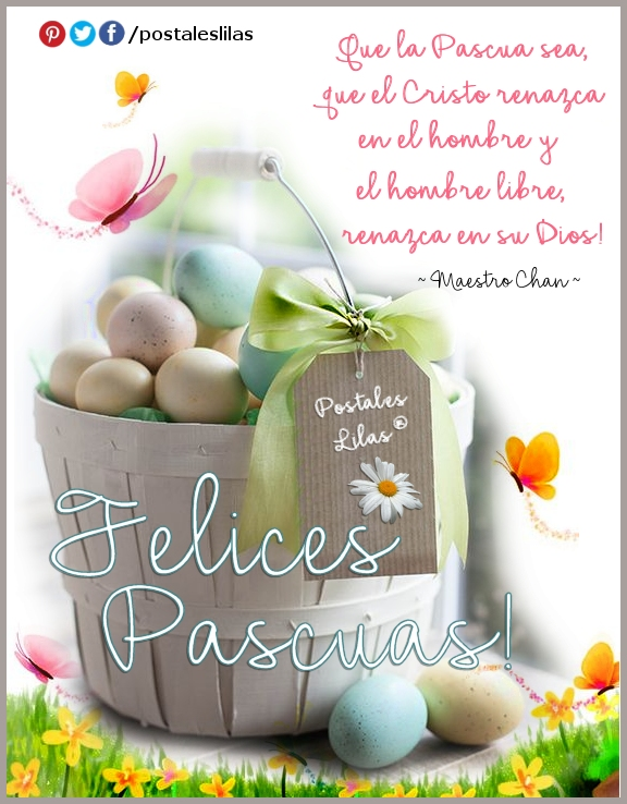 Felices Pascuas para descargar y compartir