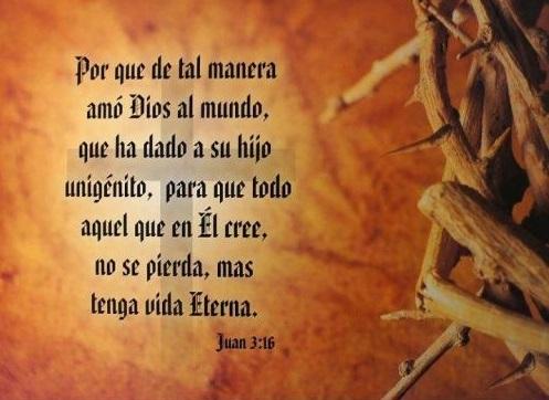 Imagen con mensaje Bíblicopara compartir en Semana Santa