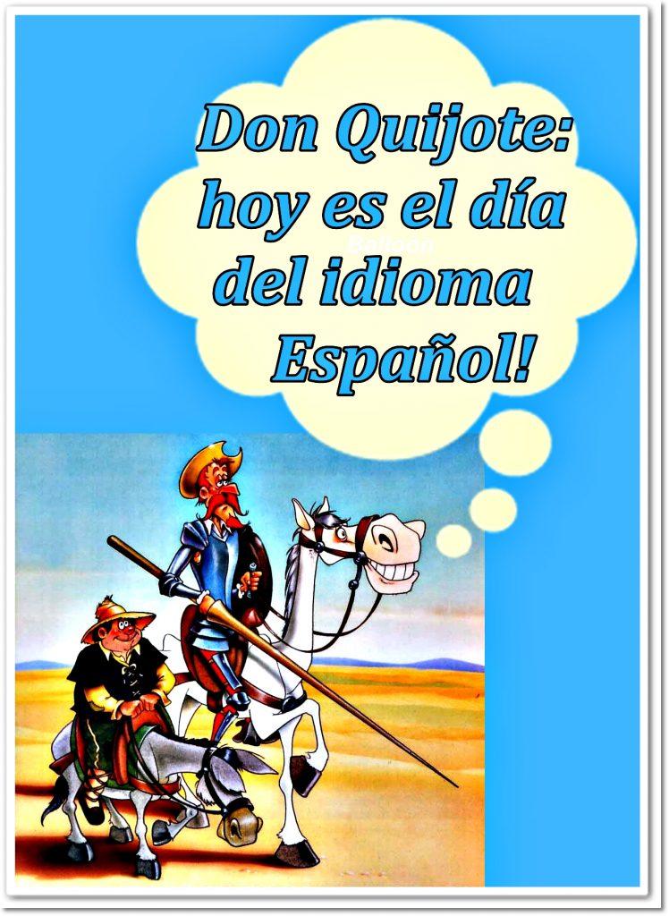 Imagenes del día del idioma-el quijote