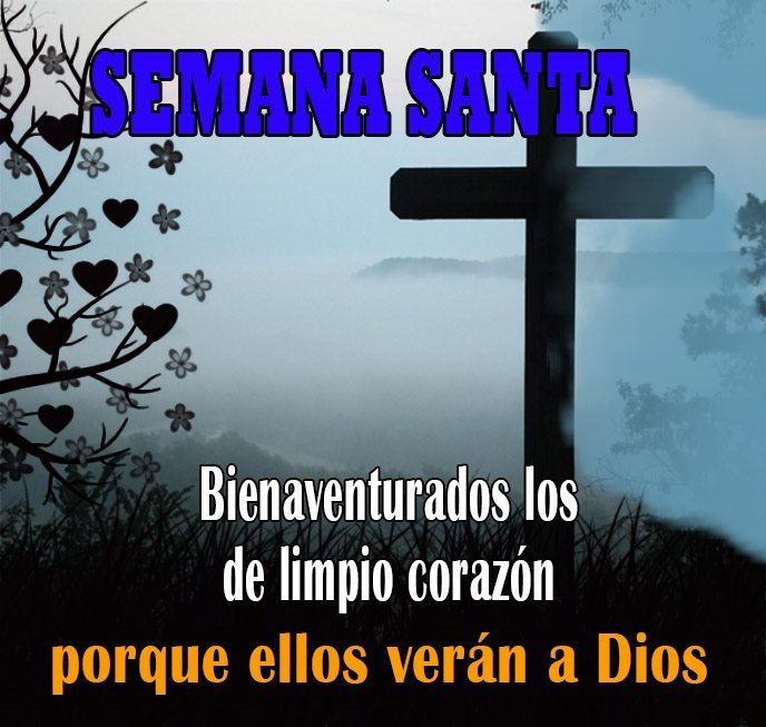 Imagenes para compartir con mensajes de Semana Santa