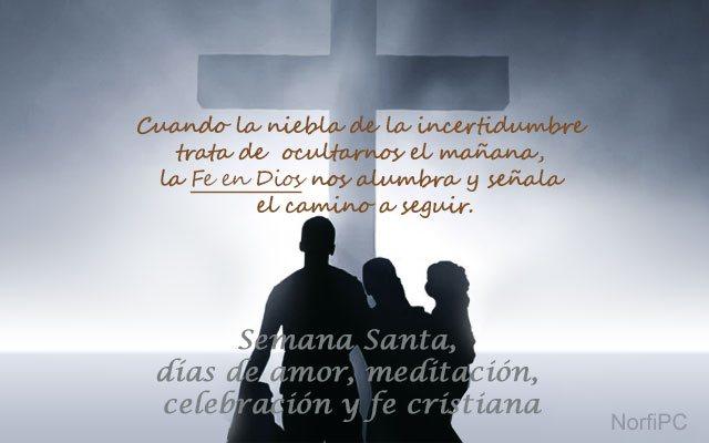 Mensajes para Semana Santa