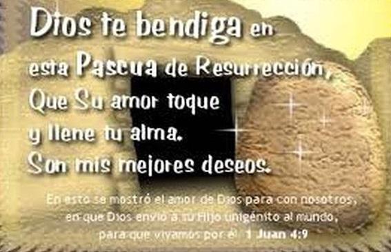 Mensajes para enviar y desear Felices Pascuas De Resurrección