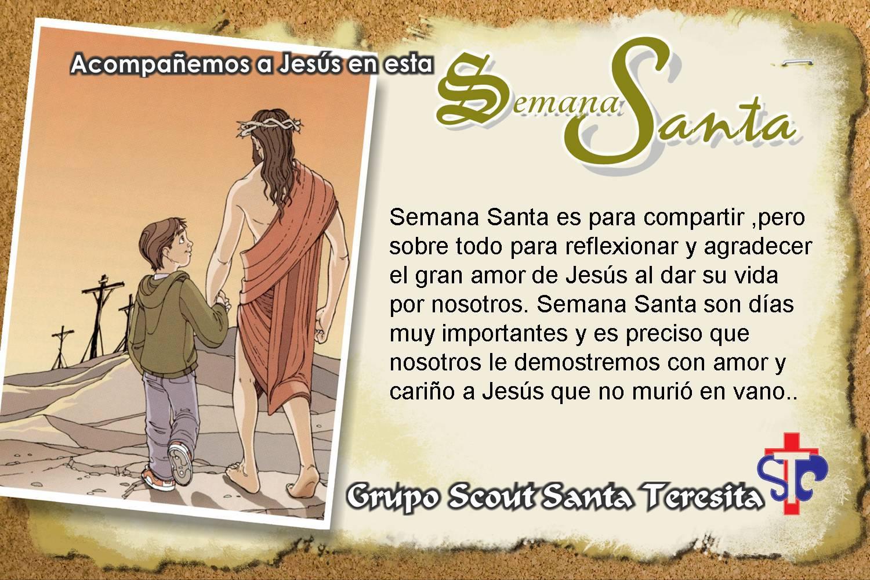 Feliz Semana Santa para compartir en Facebook