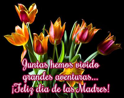 Imagen con frases para desear feliz día de las madres para compartir