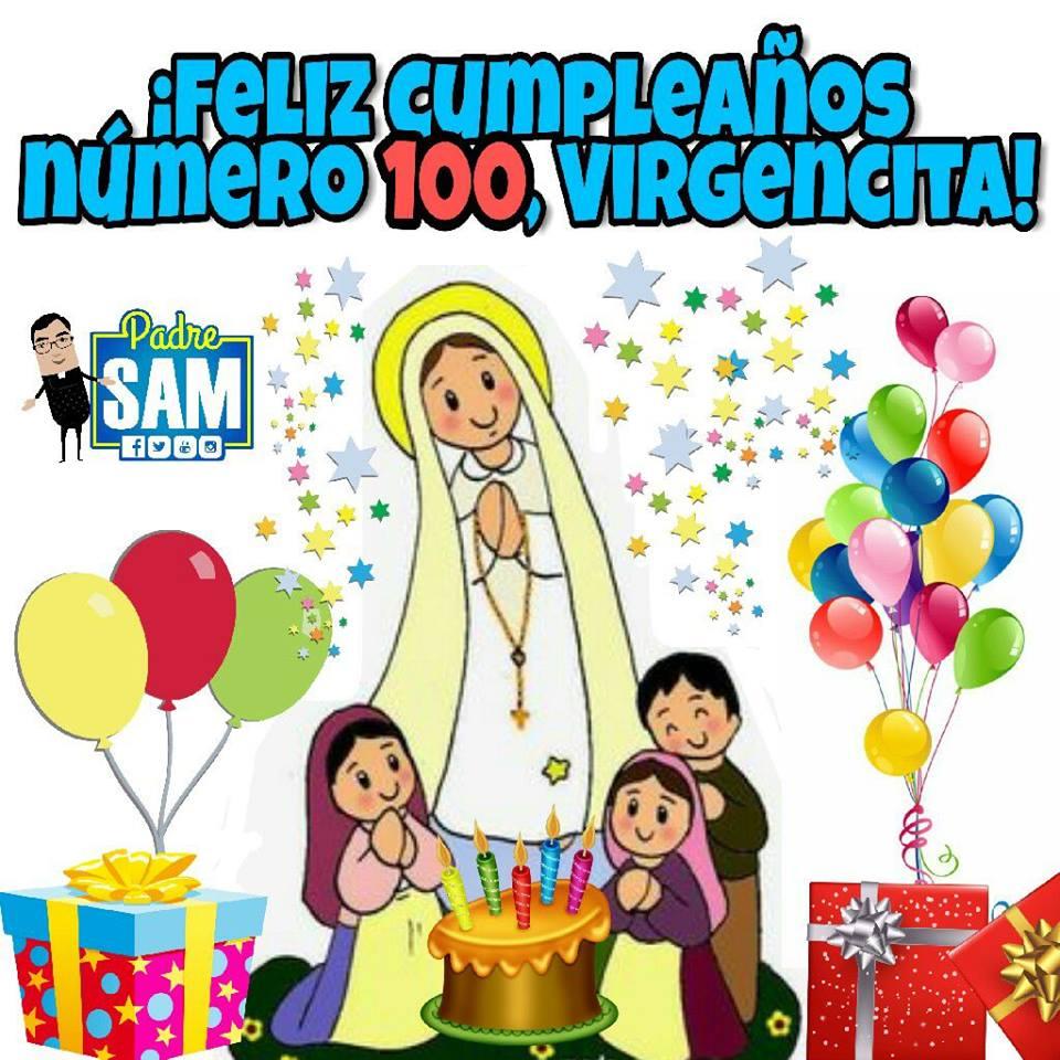 Imagenes De La Virgen De Fátima 100 Años