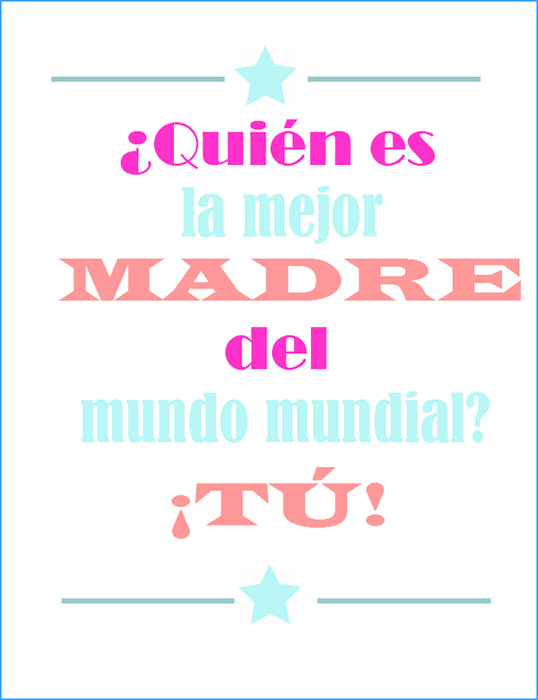 Imagenes creativas con frases para el día de la madre