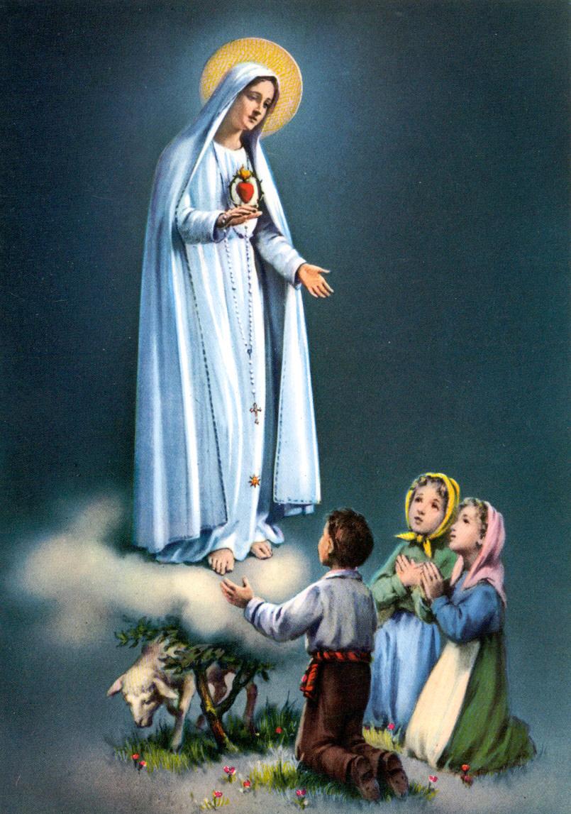 Imagenes de la Virgen de Fatima Para Compartir en Facebook