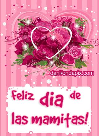 Imagenes de rosas feliz dia de las mamitas