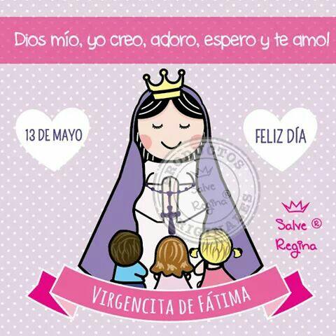 Imagenes feliz día Virgencita de Fátima