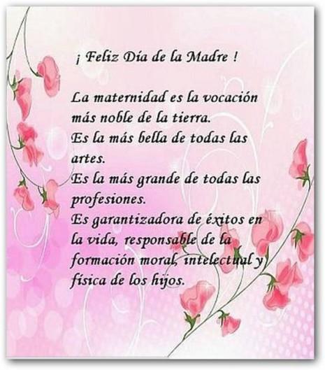 Mensaje Feliz Día de La Madre para compartir en facebook