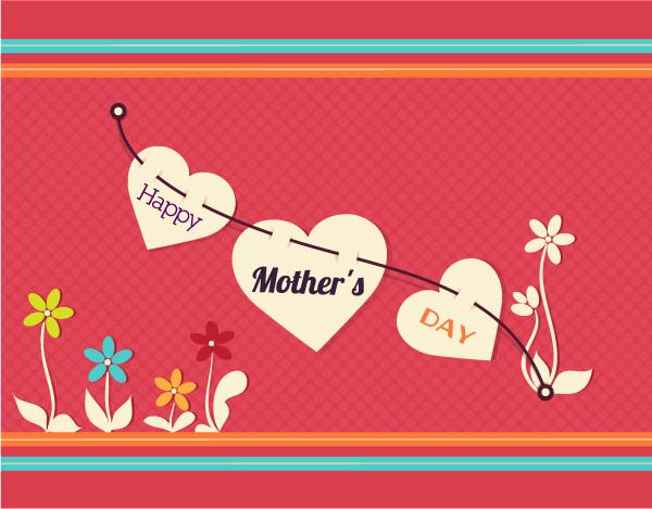 Tarjetas para las madres en su día