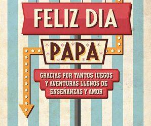 Imagenes De Carteles Para El Día Del Padre