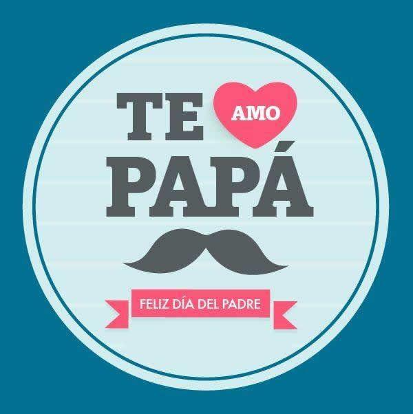 Descargar carteles para papá con mensajes de feliz dia