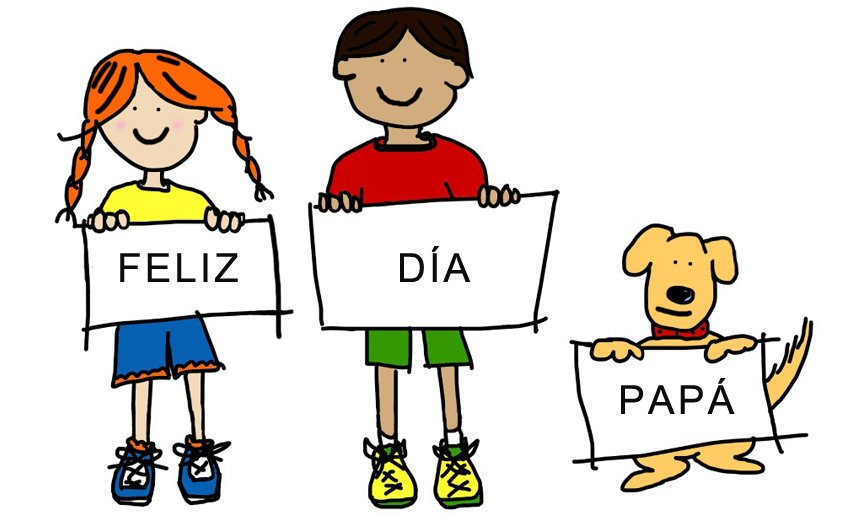 Tarjetas De Niños para Dar Un Feliz Día Del Padre