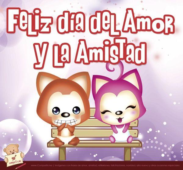 Imagen feliz díadel amor y la amistad para facebook