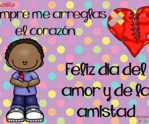 Frases En Imagenes Para Dedicar El Día Del Amor Y La Amistad
