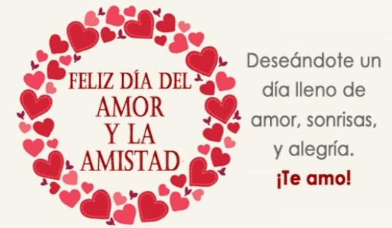 Mensaje de amor y amistad para enviar a mi amor